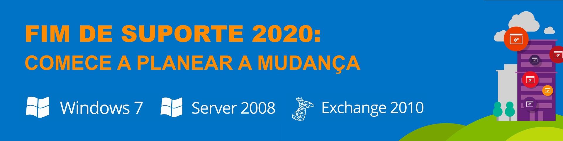 fim de suporte 2020